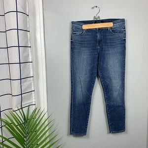 J. Brand Capri Mid Rise Jeans